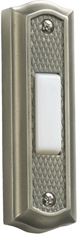 Quorum International Antique Silver Door Chime Button 7-301-92