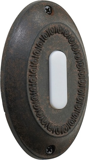 Quorum International Toasted Sienna Door Chime Button 7-307-44