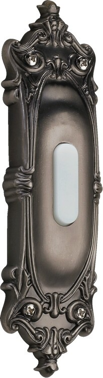 Quorum International Antique Silver Door Chime Button 7-310-92