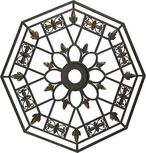 "Marcela Family 33"" Oiled Bronze Ceiling Medallion 7-6031-86"