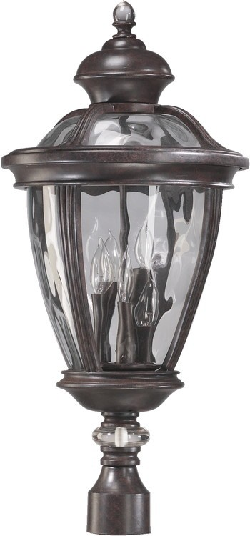 Sloane Family 5-Light Baltic Granite Outdoor Post Lantern 7221-5-45