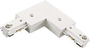 Quorum International Track Light White Connector 7303-06