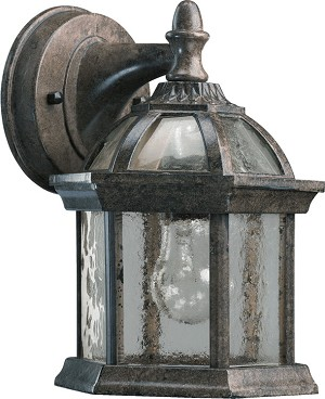 Weston Family 1-Light Baltic Granite Outdoor Wall Lantern 7817-45