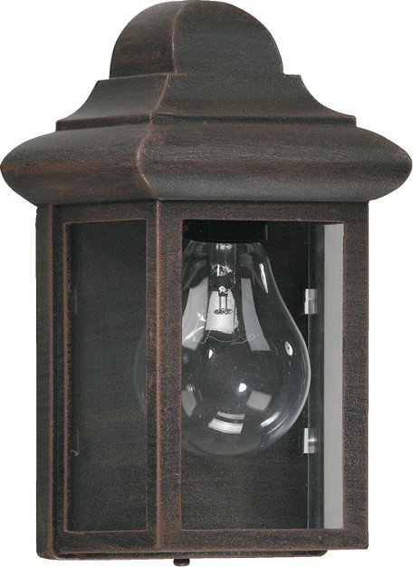 Quorum International 1-Light Rust Outdoor Lantern 783-5
