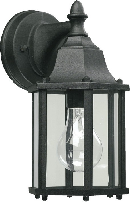 Quorum International 1-Light Black Outdoor Lantern 786-15