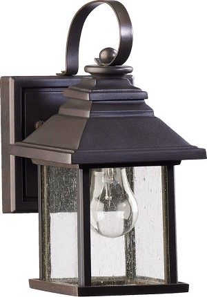 Pearson Family 1-Light Oiled Bronze Outdoor Wall Lantern 7940-5-86