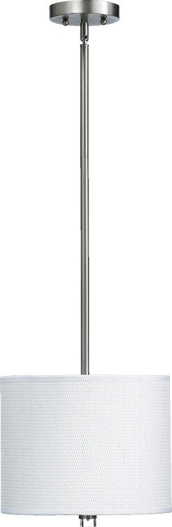 "Copeland Family 1-Light 11"" Satin Nickel Pendant 859-12-65"