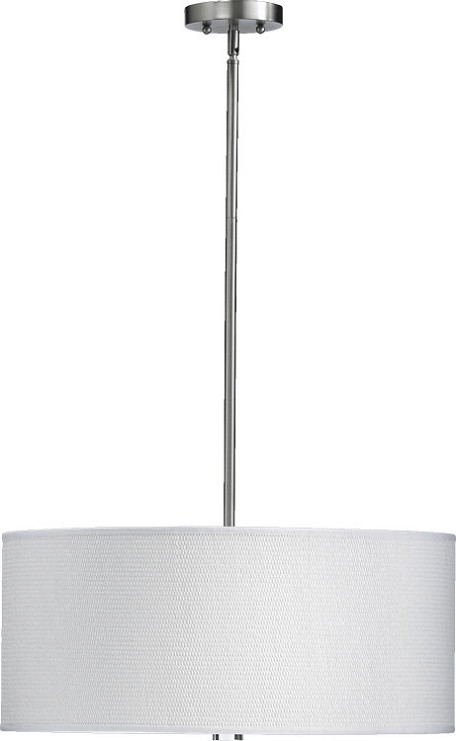 "Copeland Family 3-Light 10"" Satin Nickel Pendant 859-23-65"