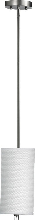 "Copeland Family 1-Light 13"" Satin Nickel Pendant 859-6-65"