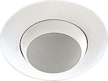 "Quorum International White 8"" Adjustable Eyeball Recessed Light 9810-06"