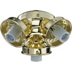 "Quorum International 3"" Polished Brass Light Kit 2303-902"