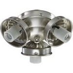 "Quorum International 3"" Satin Nickel Light Kit 2303-9065"