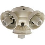 "Quorum International 3"" Antique White Light Kit 2303-9067"