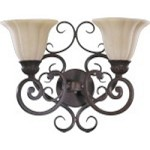 Coronado Family 2-Light Gilded Bronze Wall Sconce 5195-2-38