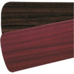 "Quorum International 52"" Rosewood / Walnut Fan Blades (Set of 5) 5255524125"