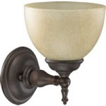 Ashton Family 1-Light Toasted Sienna Wall Sconce 5435-1-44