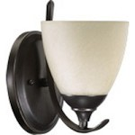 Powell Family 1-Light Old World Wall Sconce 5508-1-95