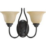Spencer Family 2-Light Toasted Sienna Wall Sconce 5510-2-44