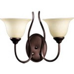 Spencer Family 2-Light Oiled Bronze Wall Sconce 5510-2-86