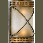 San Sebastian Family 2-Light Cordovan Bronze Wall Sconce 5518-27