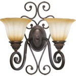 Summerset Family 2-Light Toasted Sienna Wall Sconce 5526-2-44