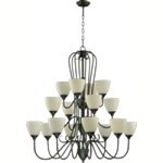 "Powell Family 38"" Old World Chandelier 6008-16-95"