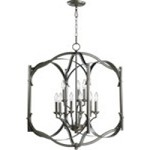 "Atwood Family 22"" Oiled Bronze Entryway Light 6796-9-86"