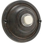 Quorum International Toasted Sienna Door Chime Button 7-304-44