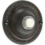 Quorum International Toasted Sienna Door Chime Button 7-305-44