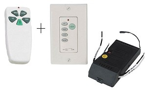 Ellington Fan Series Dual Hand Held and Wall Control Remote System RDI-103
