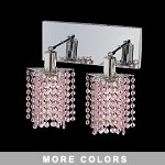 "Hollywood Design 2-Light 8"" Star Wall Sconce  30% Lead or Swarovski Spectra Crystal SKU# 11343"