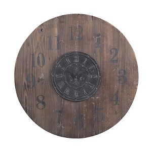"30"" Wooden Waldemar Clock 51-10010"