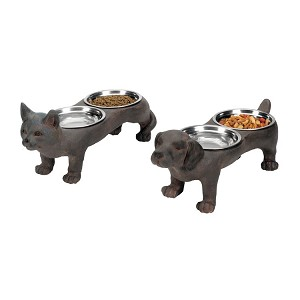 Perfect Pet Bowls (Set Of 2) 87-2108