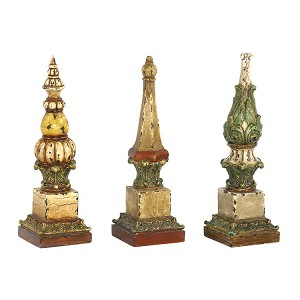 Sphere Tip Finials (Set Of 3) 93-5408