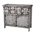 Chest In Heavily Distressed Monta White Finish 128-1023