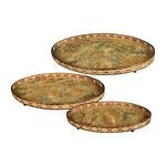 Oval Appaloosa Trays (Set Of 3) 50-7668