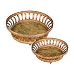 Round Appaloosa Trays (Set Of 2) 50-7671