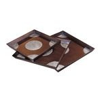 Stamped Medallion Trays (Set Of 3) 51-1401