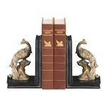 Perching Peacocks Bookends (Set Of 2) 87-4179