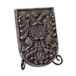 Coat Of Arms Plaque Weaver Grey Picture Frame 93-10079