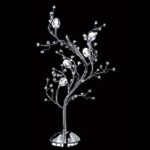"Fusion Series 6-Light 28"" Polished Chrome Table Lamp SKU# 16767"