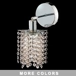 "Hollywood Design 1-Light 6"" Star Wall Sconce  30% Lead or Swarovski Spectra Crystal SKU# 11325"