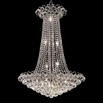 Atlantis Design 15-Light 36'' Chrome or Gold Chandelier with European or Swarovski Crystals  SKU# 10225