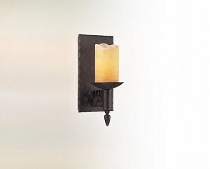 "Academy Collection 1-Light 4"" Weathered Rust Wall Sconce B2581"
