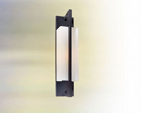 One Light Forged Iron Wall Light