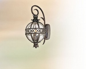 "Campanile Collection 2-Light 11"" Campanile Bronze Outdoor Wall Fixture B5002CB"