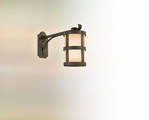 "Barbosa Collection 1-Light 8"" Barbosa Bronze Outdoor Wall Fixture BF3315"