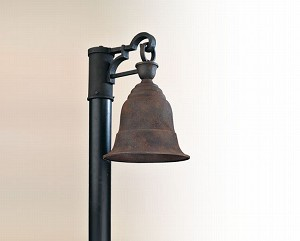 "Liberty Collection 1-Light 15"" Cenntinial Rust Post Mount Fixture PF2364CR"