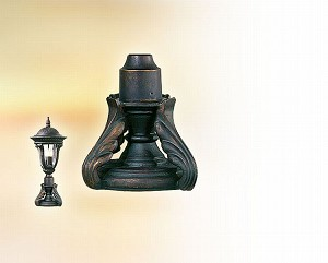 "Wings Collection 8"" Roman Bronze Pier Mount Fixture PM8420RB"