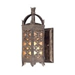 "Gables Collection Energy Efficient 1-Light 16"" Charred Gold Dark Sky Outdoor Wall Lantern BF9901CG-D"